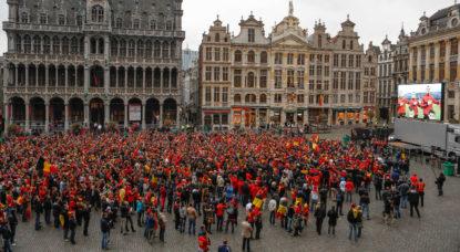 Coupe du monde: 1 belge sur 4 regardera au moins un match des Diables Rouges à l'extérieur - BX1