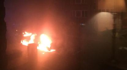 """Voitures brûlées dans une rue à Evere: """"On ne comprend pas, vu le quartier"""" - BX1"""