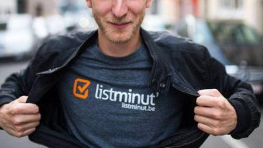 La start-up bruxelloise ListMinut et le géant Hubo nouent un partenariat
