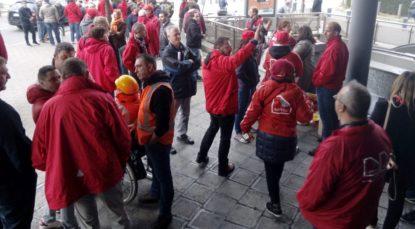 membre de l'union socialiste FGTB-CGSP/ ABVV-ACOD le 1er Mai