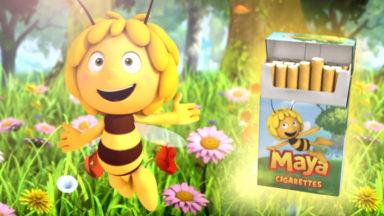 Studio 100 déplore la campagne choc de Greenpeace mettant en scène Maya l'abeille