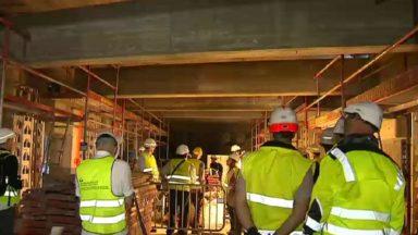 Entre les stations Parc et Gare centrale, le métro passe dans un lieu insoupçonné