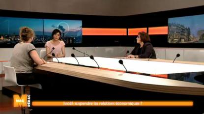 La Région bruxelloise doit-elle suspendre les missions économiques en Israël ? Débat dans #M - BX1