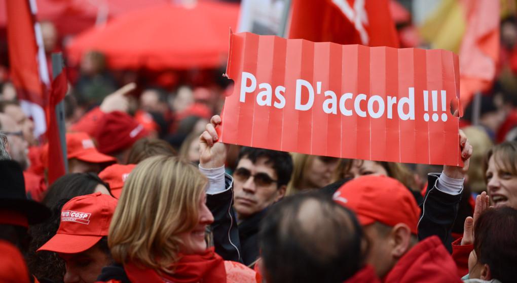 Manifestation pour les pensions: importante mobilisation attendue dans la capitale - BX1