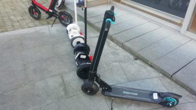 Des trottinettes électriques en free-float arriveront à Bruxelles le 29 juin prochain