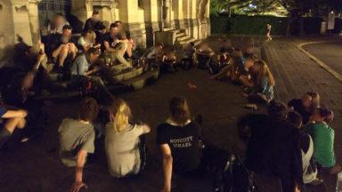 Des étudiants entament une occupation de l'ULB pour défendre une université démocratique