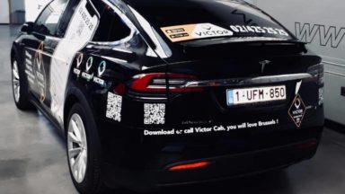 Victor Cab : un concurrent pour Uber à Bruxelles