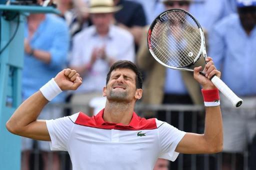 Novak Djokovic en progrès au Queen's — Tennis