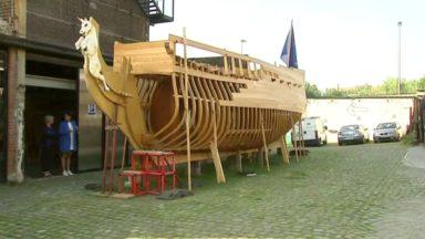 À la découverte de La Licorne, la réplique du vaisseau de guerre de Louis XIV et lauréat du prix Bruocsella