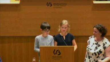 Uccle: l'école des Eglantiers récompensée par le Parlement de la Fédération Wallonie-Bruxelles
