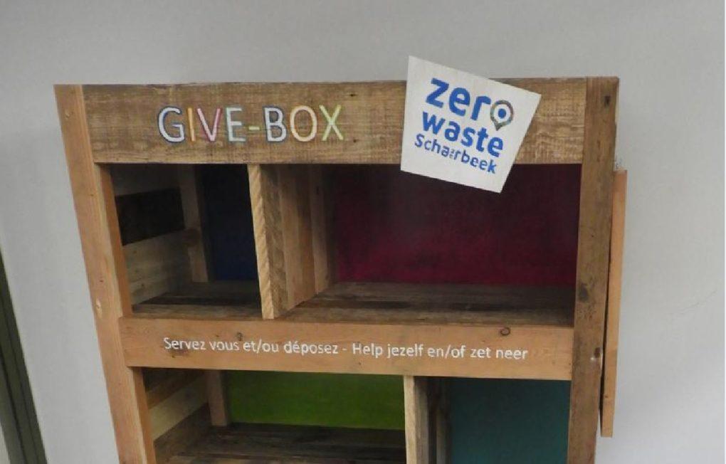 Schaerbeek 3 Give Box Installees Pour Donner Une Seconde Vie Aux Objets Inutilises Bx1