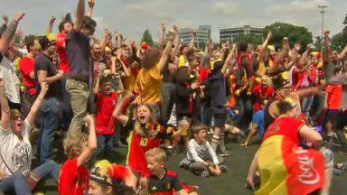 Belgique-Tunisie: les supporters se sont régalés