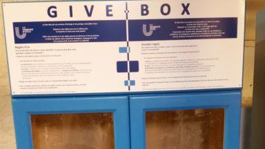 Uccle : deux Give Box lancées pour échanger des objets