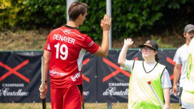 Hockey : Les Red Lions s'entrainent avec des athlètes de Special Olympics Belgium