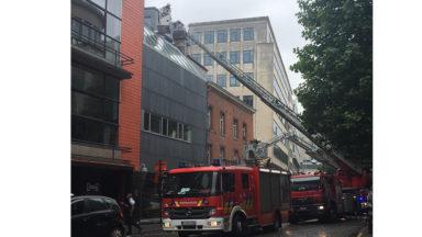 Bruxelles-ville : incendie dans la cuisine du restaurant Humphrey