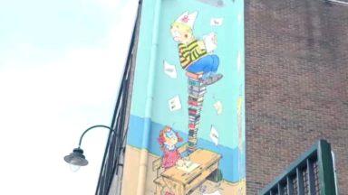 L'élève Ducobu a désormais sa fresque à Bruxelles