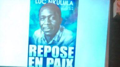 Plus de 200 personnes ont rendu hommage à Bruxelles à l'opposant congolais Luc Nkulula