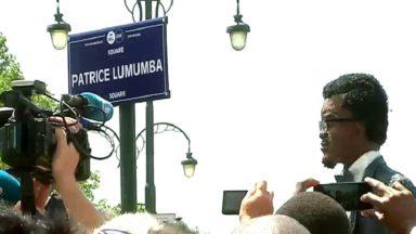 Le nouveau square Lumumba inauguré à Bruxelles