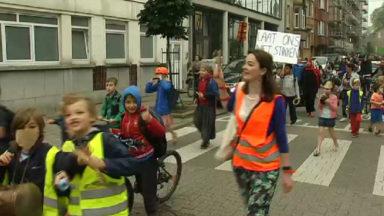 Plus de 60 écoles ont bloqué des rues ce matin à l'initiative de Filter Café Filtré