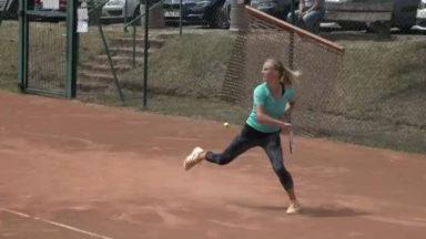 Tennis: portrait de la Bruxelloise Kimberley Zimmermann