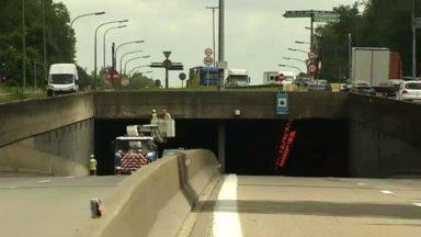 Ring de Bruxelles : le tunnel léonard vers Zaventem fermé du 7 au 10 août