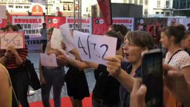 Un collectif féministe proteste à l'ouverture du BRIFF