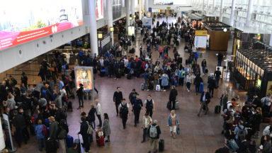 Plus de 800.000 passagers à Brussels Airport lors de la première semaine des vacances