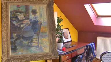 Ixelles: des oeuvres d'art dans votre salon, c'est possible !