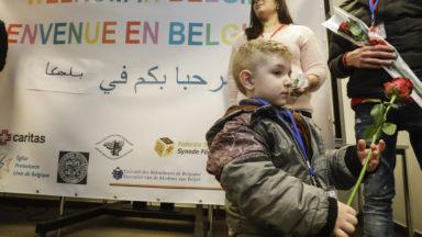 Trente-quatre réfugiés syriens arrivés à Zaventem jeudi
