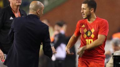 Eden Hazard blessé à la cuisse : la retransmission du match maintenue ce samedi à l'Atomium