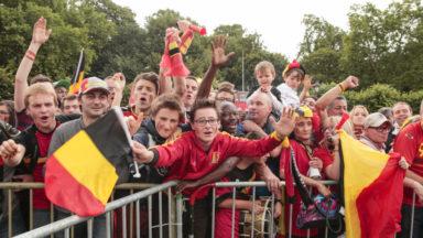 Le match Belgique-Panama sera le premier match diffusé sur grand écran à Schaerbeek