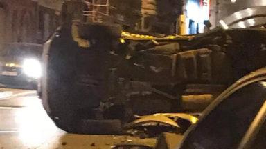 Schaerbeek: une collision chaussée de Haecht fait un blessé grave