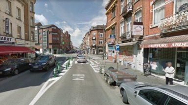 Accident chaussée de Ninove à Anderlecht: un piéton grièvement blessé