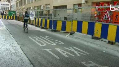 Accident entre un bus et un cycliste en séjour illégal: le chauffeur de la Stib finalement acquitté