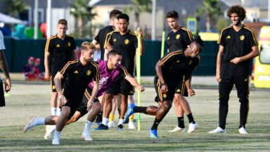 Mondial 2018: 21 Diables rouges au dernier entraînement avant de rencontrer le Panama