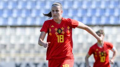 La Bruxelloise Laura De Neve élue meilleure joueuse du championnat belge de football féminin