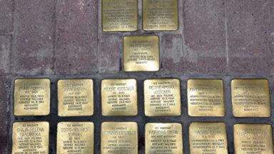 Woluwe-Saint-Pierre : 15 pavés en mémoire des victimes de la rafle du 12 juin 1943 inaugurés