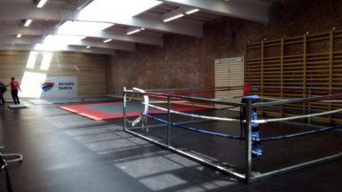 Bruxelles-Ville: inauguration du nouveau centre culturel et sportif Tour à Plomb