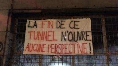 Saint-Gilles: protestation samedi contre la fermeture du tunnel piétonnier à la Gare du Midi