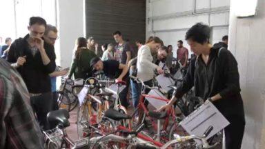 Beau succès pour la 22ème bourse aux vélos d'occasion à Bruxelles