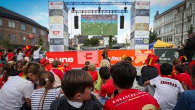 Jette : trois personnes interpellées après la diffusion sur écran géant de Belgique-Angleterre