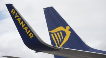 Avion Ryanair - Belga Anthony Dehez