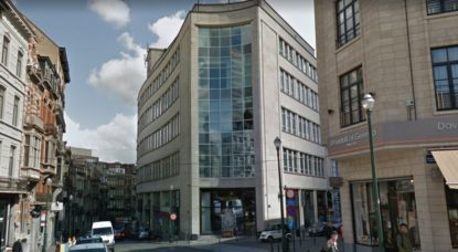 Bâtiment Belgacom-Proximus Place du Sablon - Google Street View
