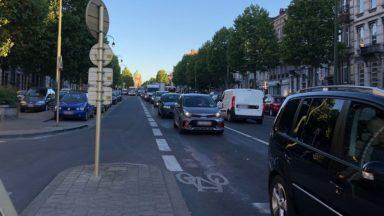"""Tunnel Léopold II : la circulation à l'heure de pointe """"à peine perturbée"""" par la fermeture ce lundi"""
