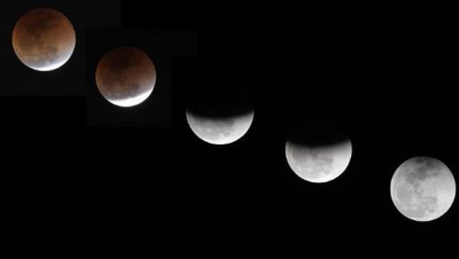 Une éclipse lunaire totale va colorer la lune en rouge vendredi