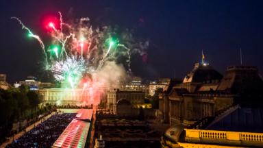 Fête nationale: 100.000 projectiles tirés pour le feu d'artifice de la capitale