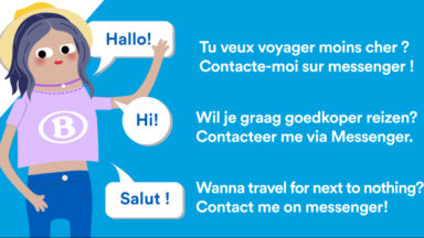 La SNCB lance un robot sur sa messagerie Facebook