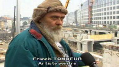 L'artiste bruxellois Francis Tondeur est décédé à l'âge de 79 ans