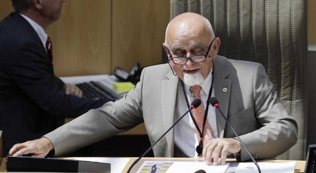Jan Peumans - Parlement flamand - Belga Thierry Roge