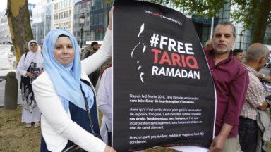 Bruxelles : manifestation au consulat de France pour la libération de Tariq Ramadan